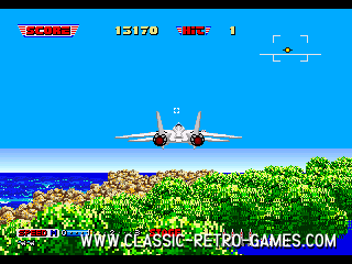 Afterburner (Master Burner) original screenshot