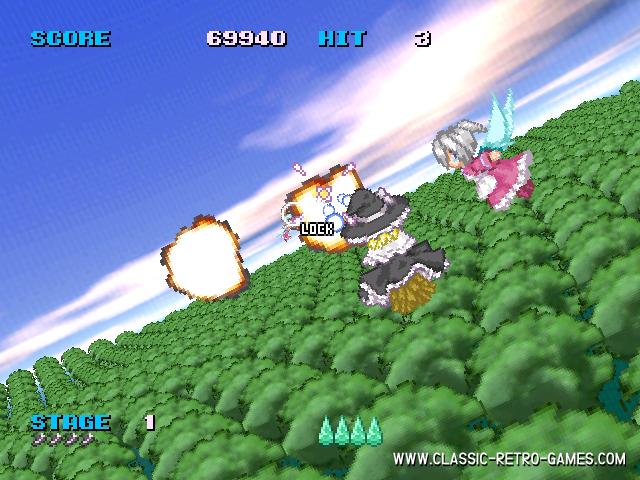 Afterburner (Master Burner) remake screenshot