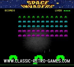Space Invaders (2) remake screenshot
