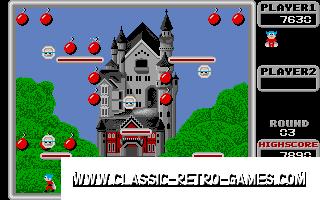 Bomb Jack original screenshot