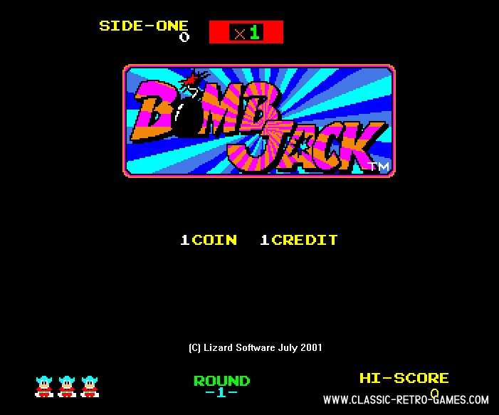 Bomb Jack remake