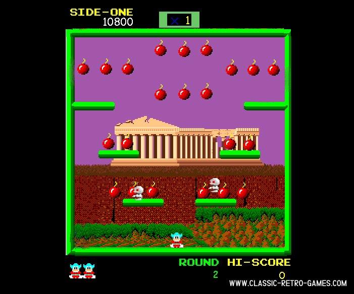 Bomb Jack remake screenshot