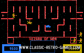 Wizard of Wor original screenshot
