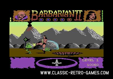 Barbarian Returns original screenshot