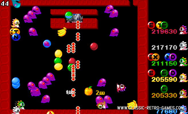 Bubble Bobble remake screenshot