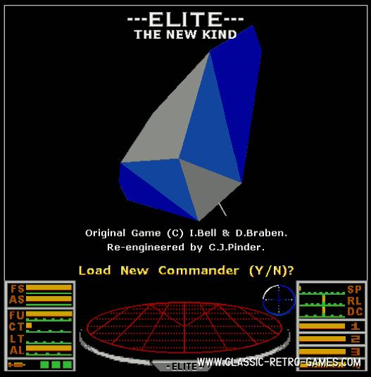 Elite The new kind remake screenshot