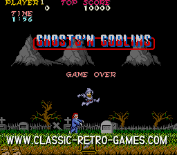 Ghosts 'n' Goblins original screenshot