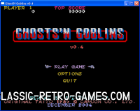 Ghosts 'n' Goblins remake screenshot
