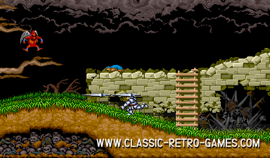 Ghouls and Ghosts remake screenshot
