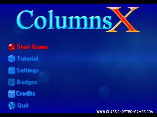 Columns X remake screenshot