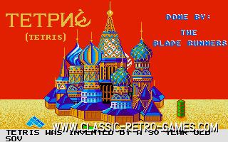 9T Lines Tetris original screenshot