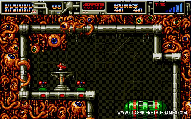 Cybernoid 2: The Revenge original screenshot