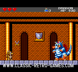 Wonderboy III The Dragon's Trap original screenshot
