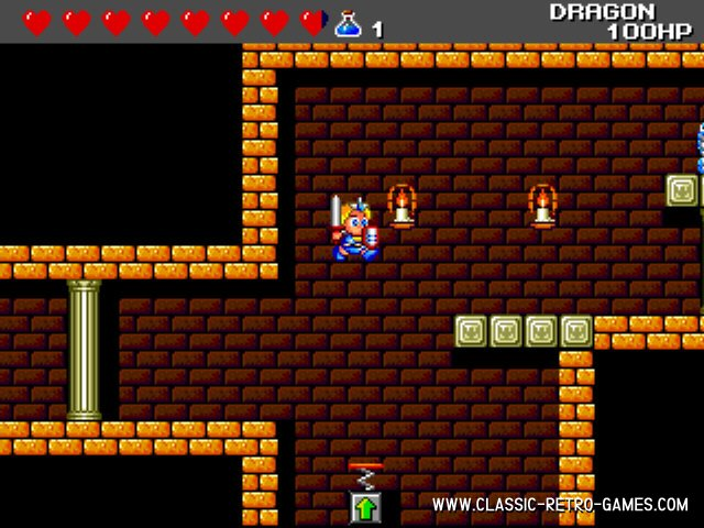 Wonderboy III The Dragon's Trap remake screenshot