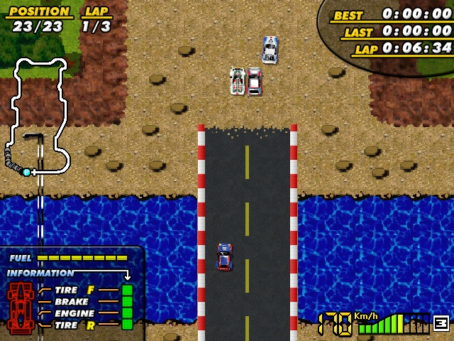 F-1 Spirit remake screenshot