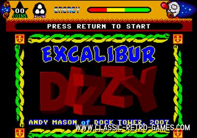 Dizzy: Excalibur remake screenshot