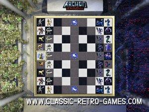 Archon remake screenshot
