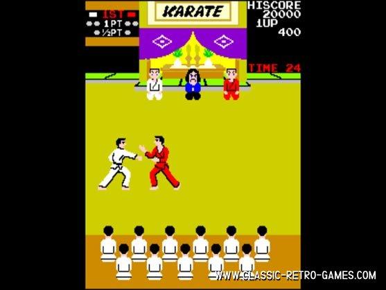 Karate Champ remake screenshot