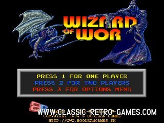 Wizard of Wor (2) remake