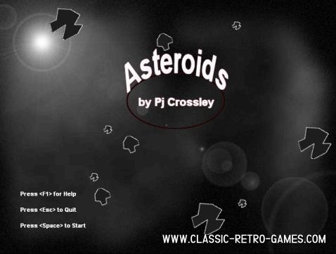Asteroids (4) remake screenshot