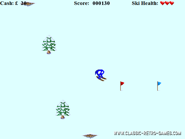 Horace goes skiing remake screenshot