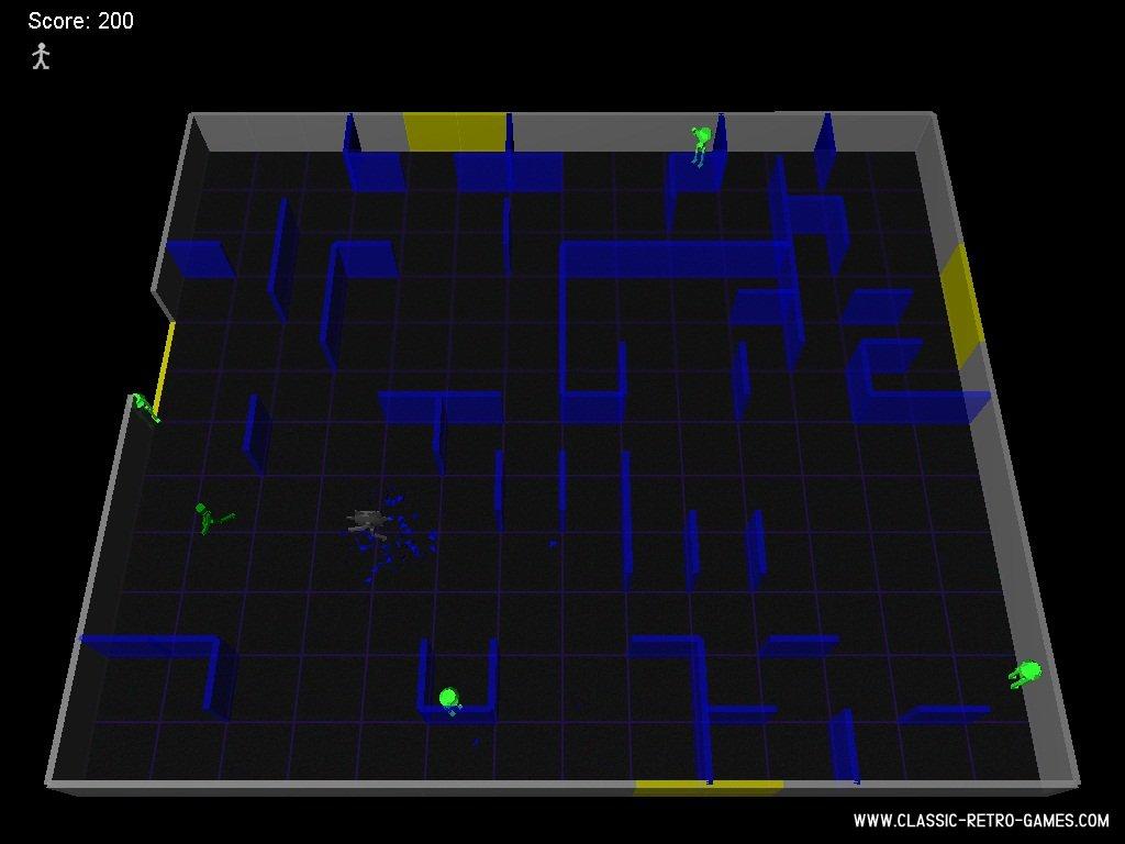 Berzerk (2) remake screenshot