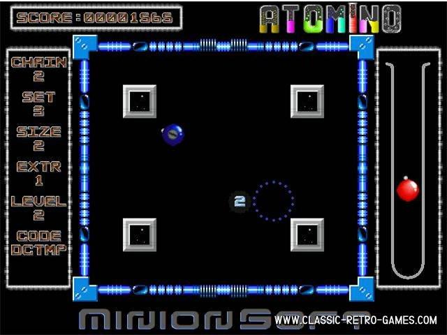 Atomino remake screenshot