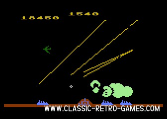 Missile Command original screenshot