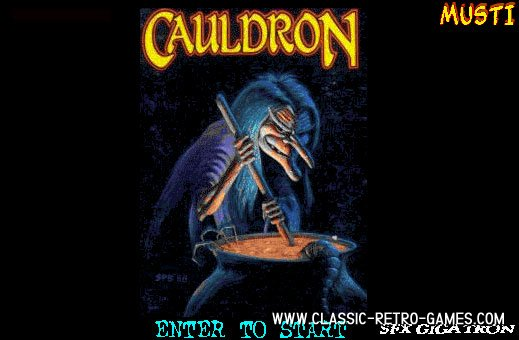 Cauldron remake screenshot