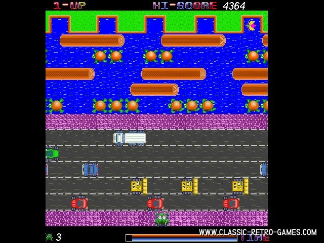 Frogger remake screenshot