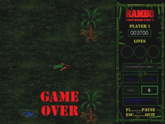 Rambo remake screenshot