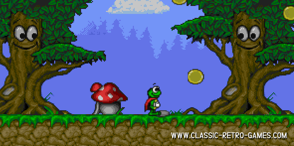 Super Frog remake screenshot