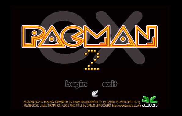 PacMan III remake screenshot