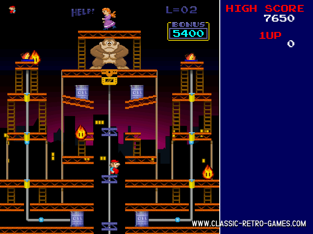 Donkey Kong Craze remake screenshot