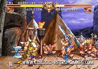 Golden Axe remake screenshot