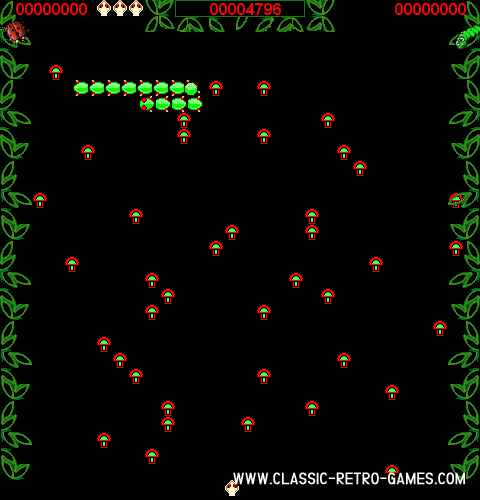 Centipede remake screenshot