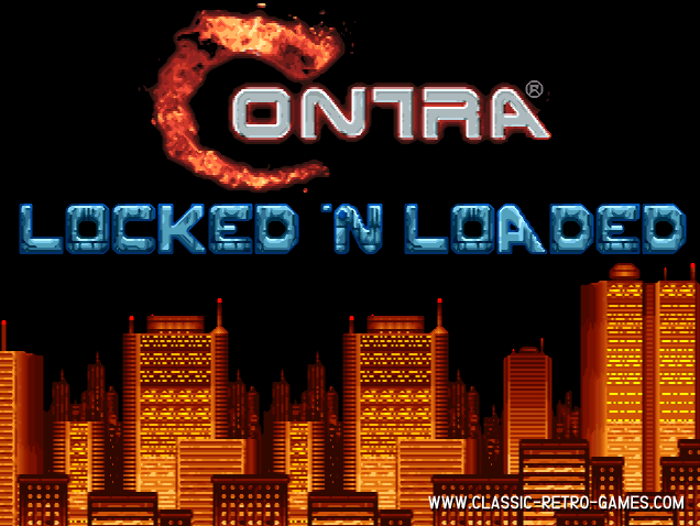 Contra remake screenshot