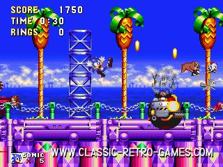 Sonic remake screenshot