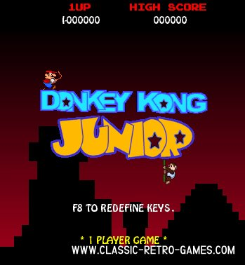 Donkey Kong Jr. remake screenshot