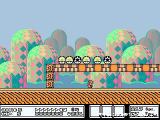 Super Mario Bros. 3 remake screenshot