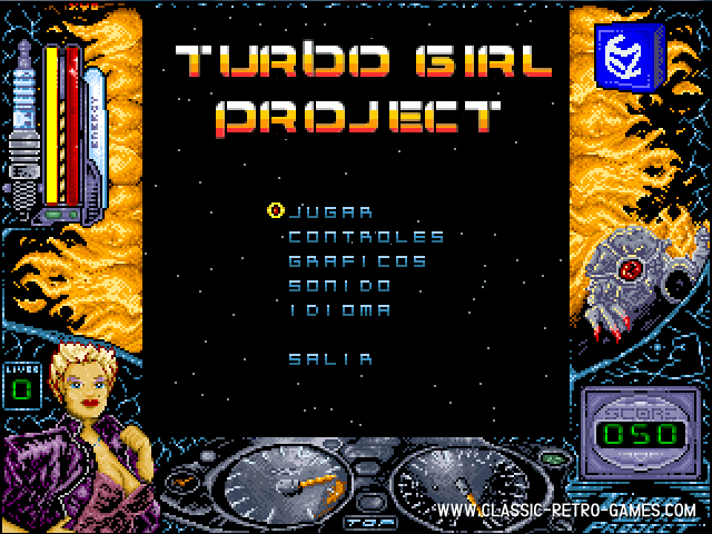 Turbo Girl remake screenshot