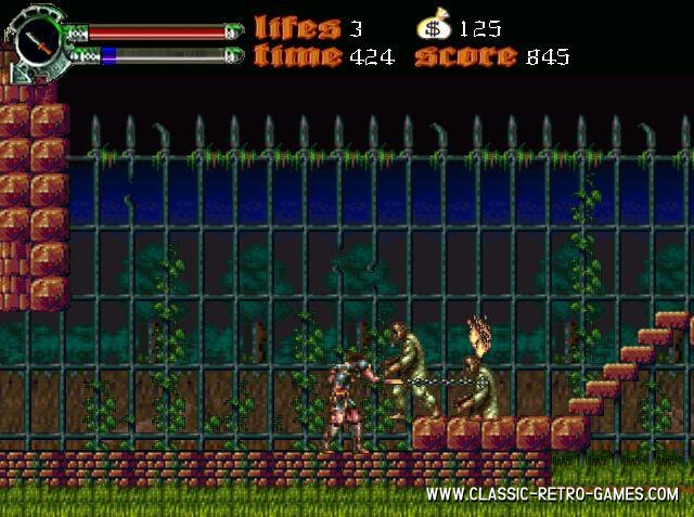 Castlevania - Dark Century remake screenshot