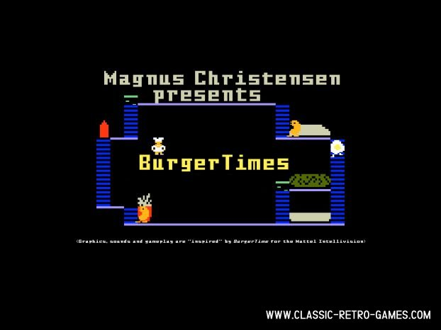 Burgertime (Burgertimes) remake screenshot