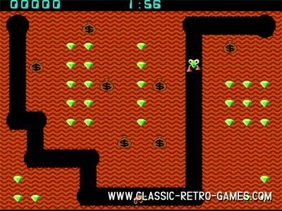 Download Digger & Play Free | Classic Retro Games