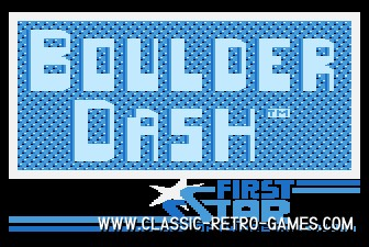 Boulder Dash original screenshot