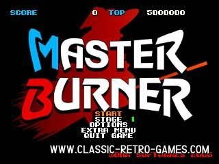 Afterburner (Master Burner) remake screenshot