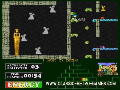 Fred 2 Pyramania remake screenshot