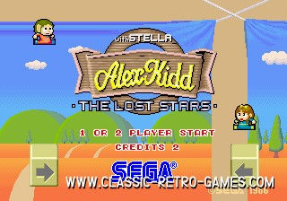 Alex Kidd original screenshot