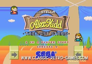 Alex Kidd original screenshot