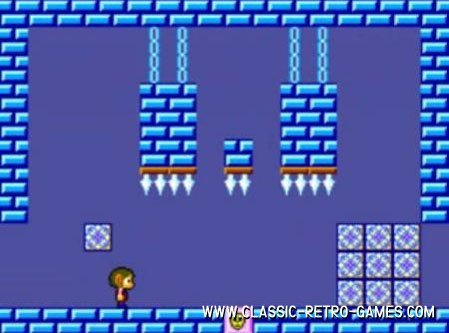 Alex Kidd remake screenshot